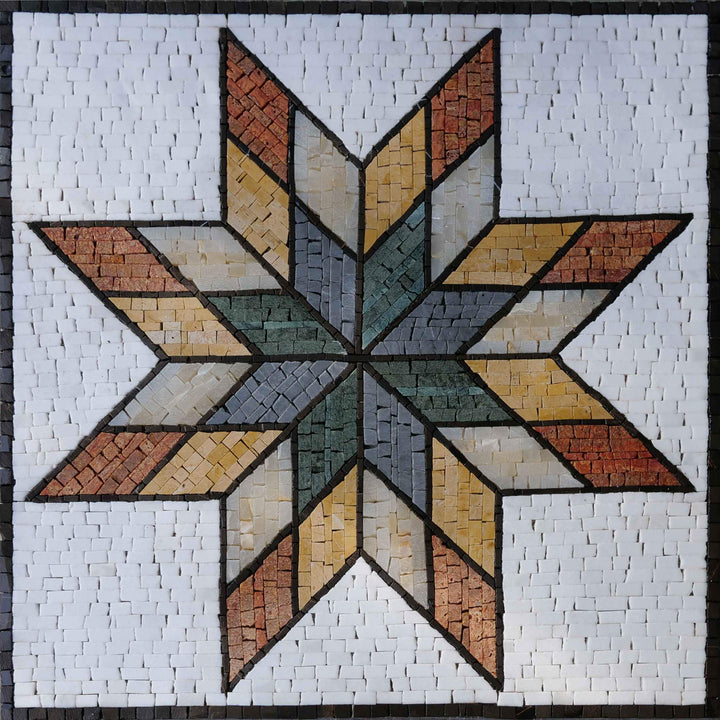 Star II Collection Mosaic Art