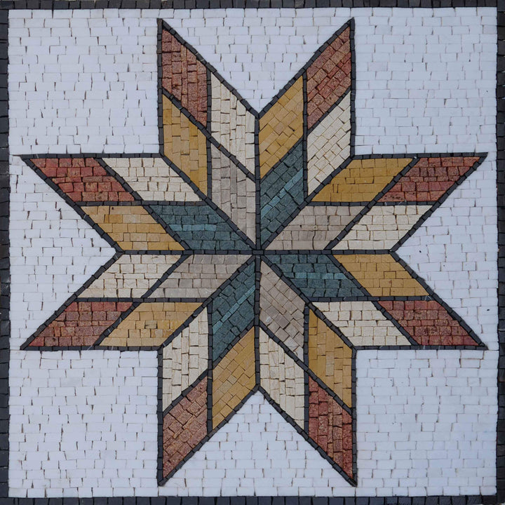Star IV Collection Mosaic Art