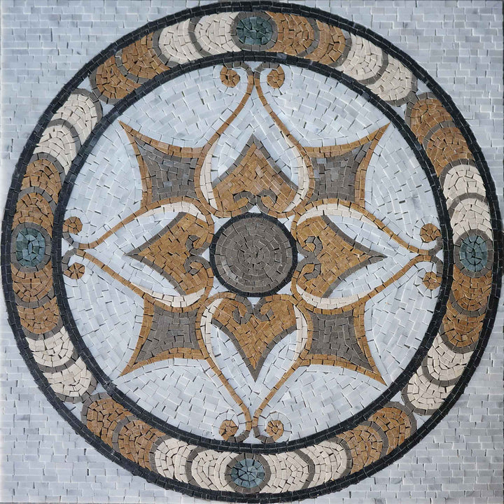 Agadir - Geometric Mosaic Artwork