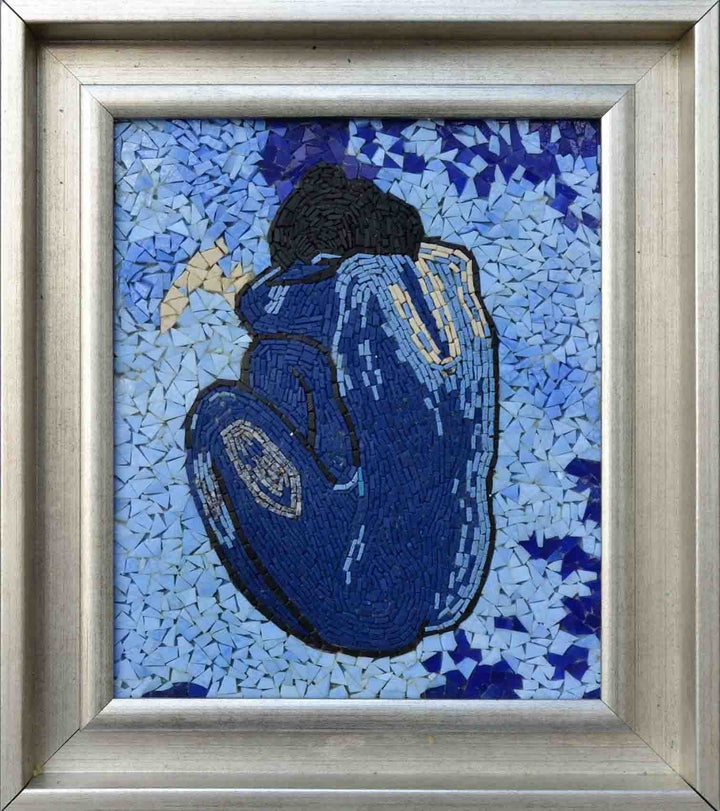 "Pablo Picasso Blue"" - Mosaic Reproduction"""
