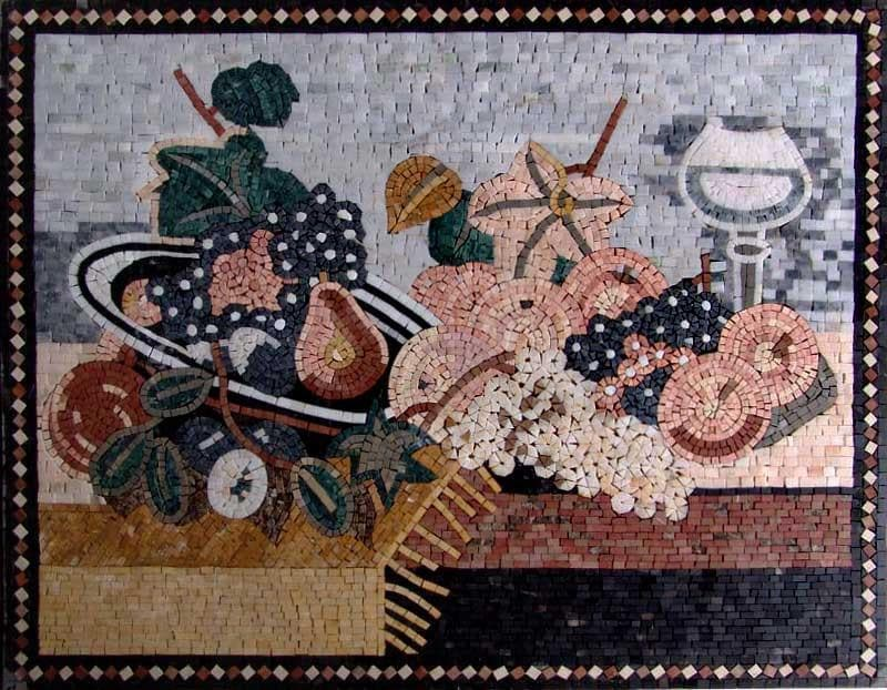 Mosaic Designs Moulin Pic