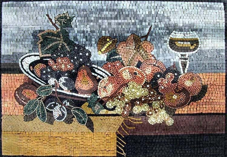Mosaic Patterns Fruit Spread Pic
