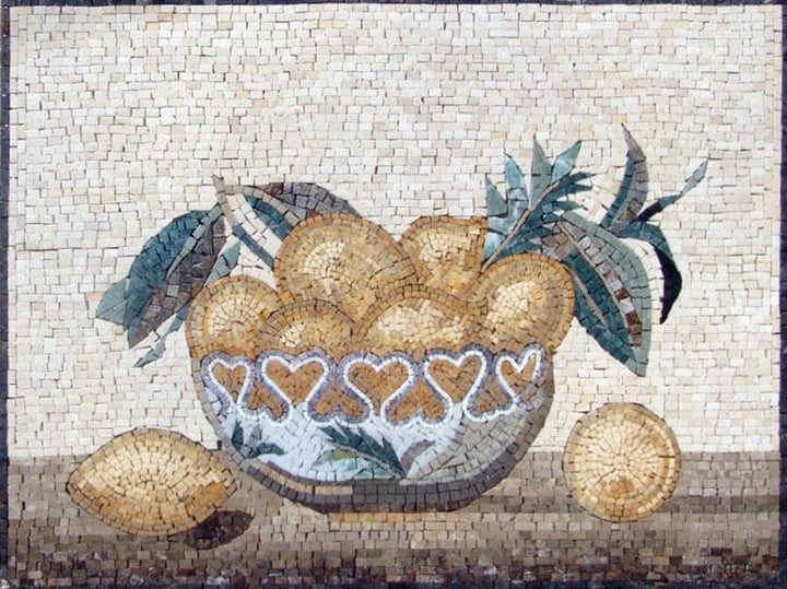 Mosaic Designs- Lemon