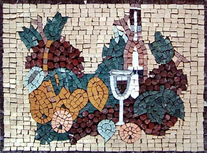 Mosaic Kitchen Backsplash - Opaco