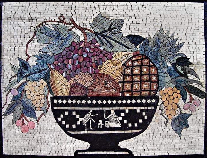 Mosaic Kitchen- Ancienne