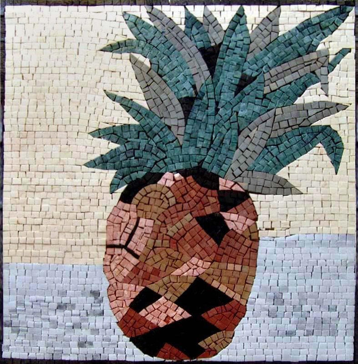 Pineapple - Mosaic Fruit Art | Food and Drink | Mozaico