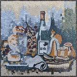 Contemporaneo Vino I - Mosaic Wine Art | Food and Drink | Mozaico