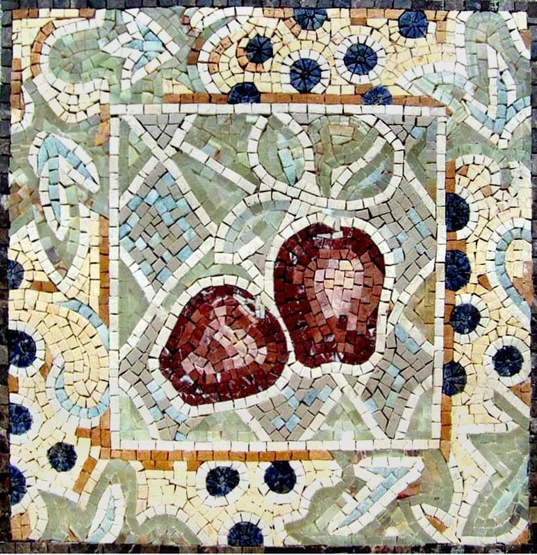 Mosaic Patterns- Red Apples