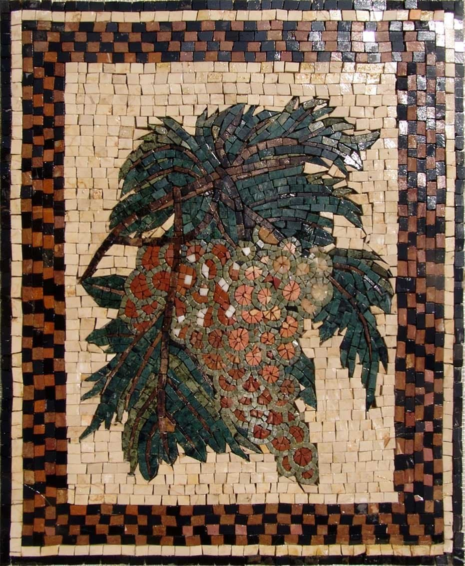 Mosaic Designs- Grapes Uva