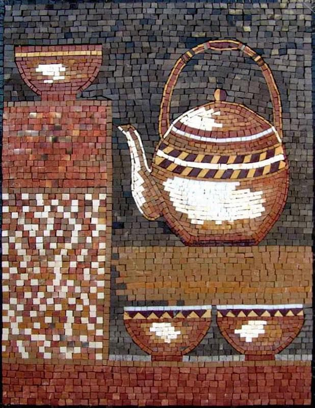 Mosaic Designs- Teakettle