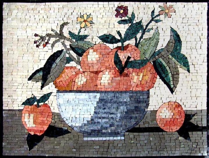 Mosaic Designs- Apples