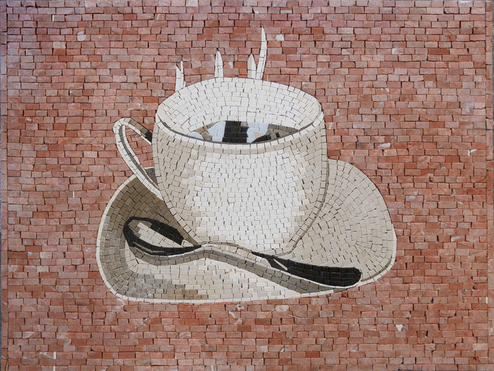 Coffee Cup - Mosaic Art | Food and Drink | Mozaico