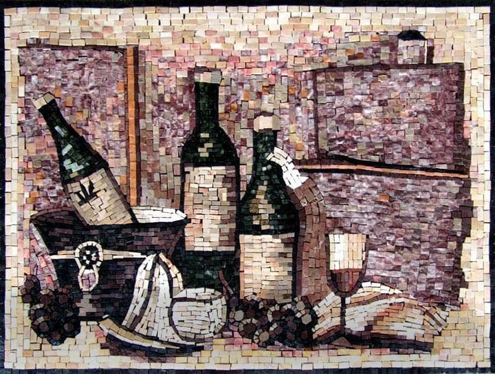 Mosaic Designs- Whimsical Wine