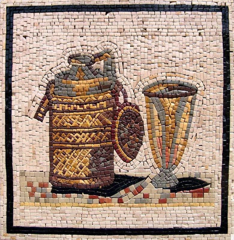 Mosaic Designs- Pitcher
