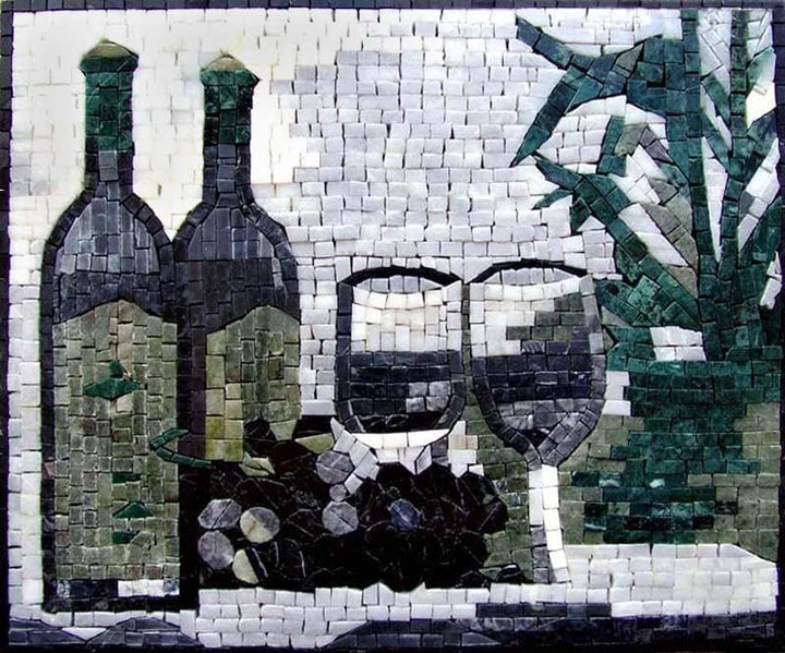 Mosaic Patterns - Vino Bottiglia