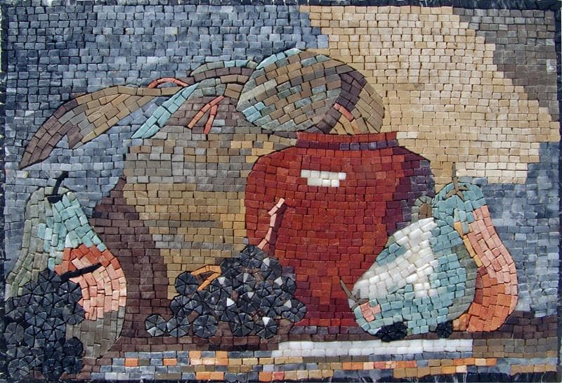 Kitchen Backsplash - Picnics Gear Mosaic