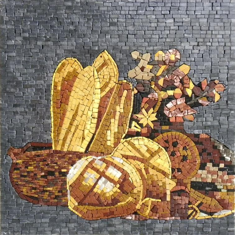 Kitchen Backsplash - Daily Bread Mosaic