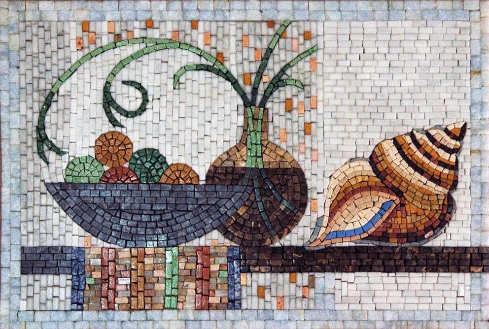 Mosaic Designs- Mollusco
