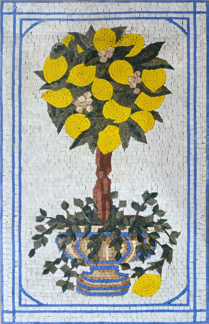 Mosaic Designs- Moroccan Lemon Tree