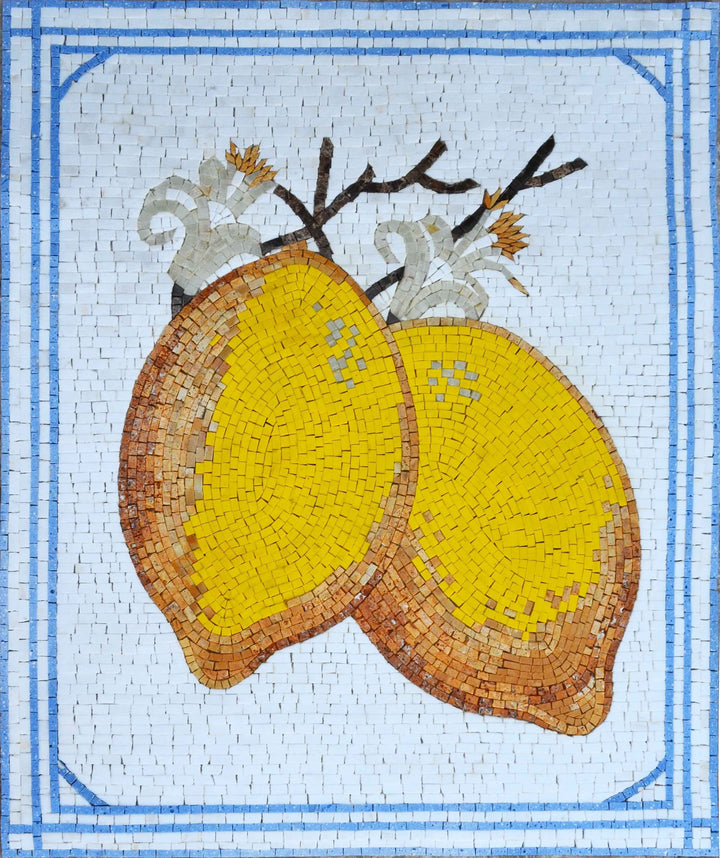 Mosaic Wall Art - Lemonade