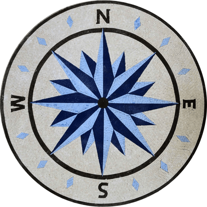 Regal - Compass Rose Mosaic