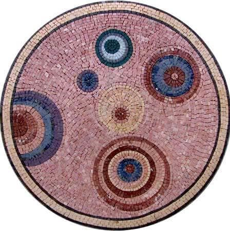 "Circle"" - Mosaic Medallion """
