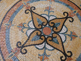 Ornamental Flower Mosaic - Maysam IV