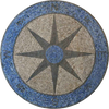 Royale - Compass Mosaic Medallion
