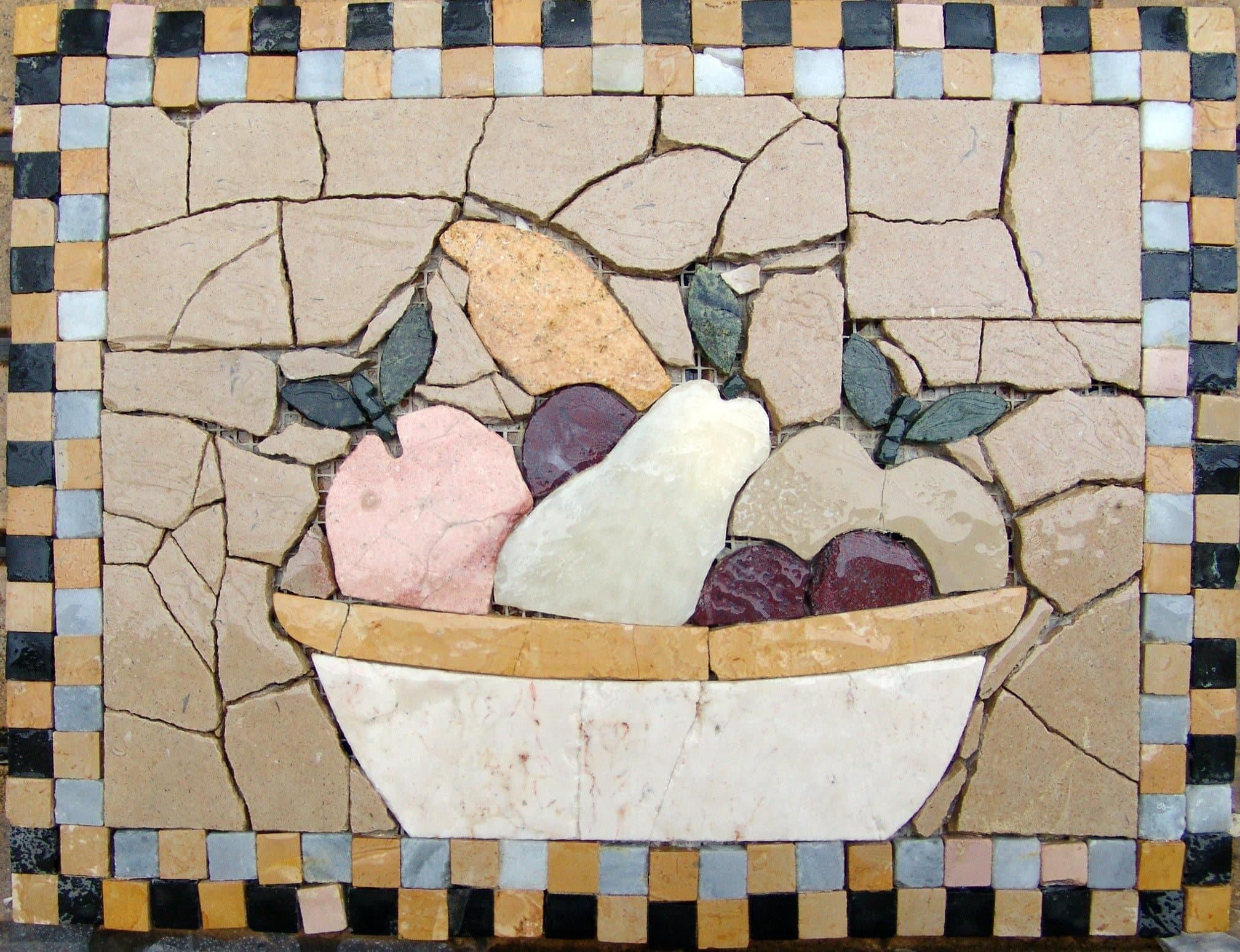 Kitchen Backsplash -Gourmet Fruits Mosaic