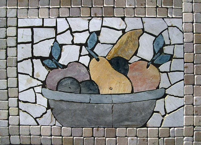 Mosaic Designs - Bowl of Spears