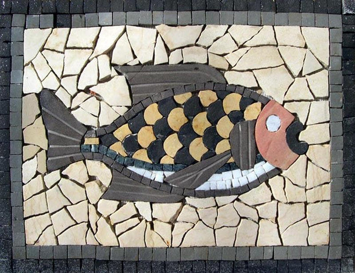 Mosaic Designs - Cactus Fish