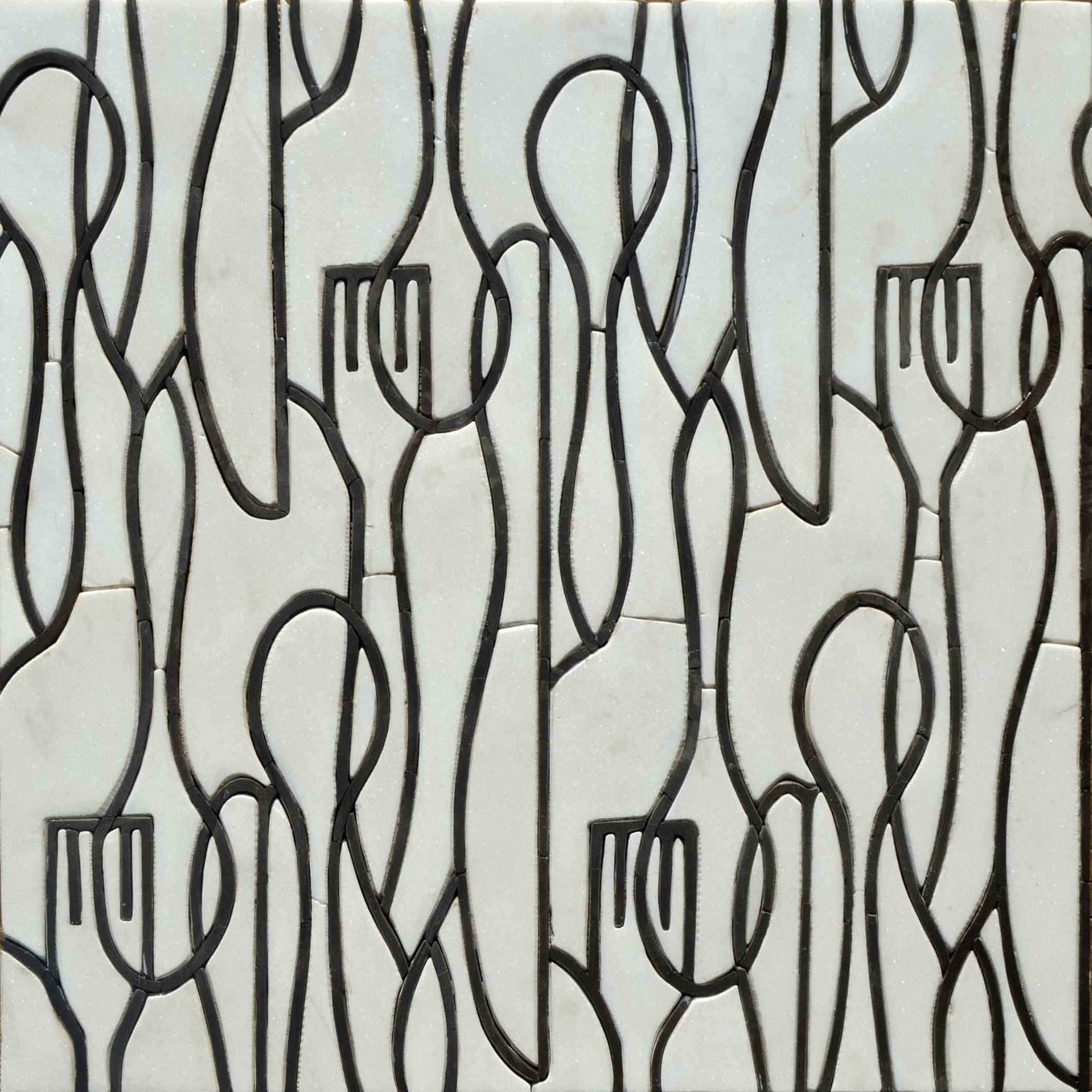 Mosaic Designs- Utensils Patterns