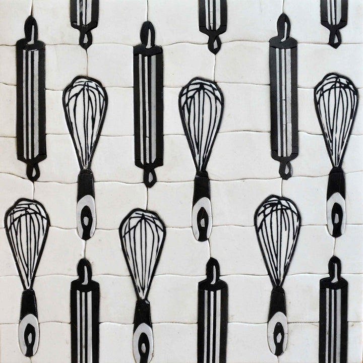 Mosaic Patterns- Kitchen Utensils