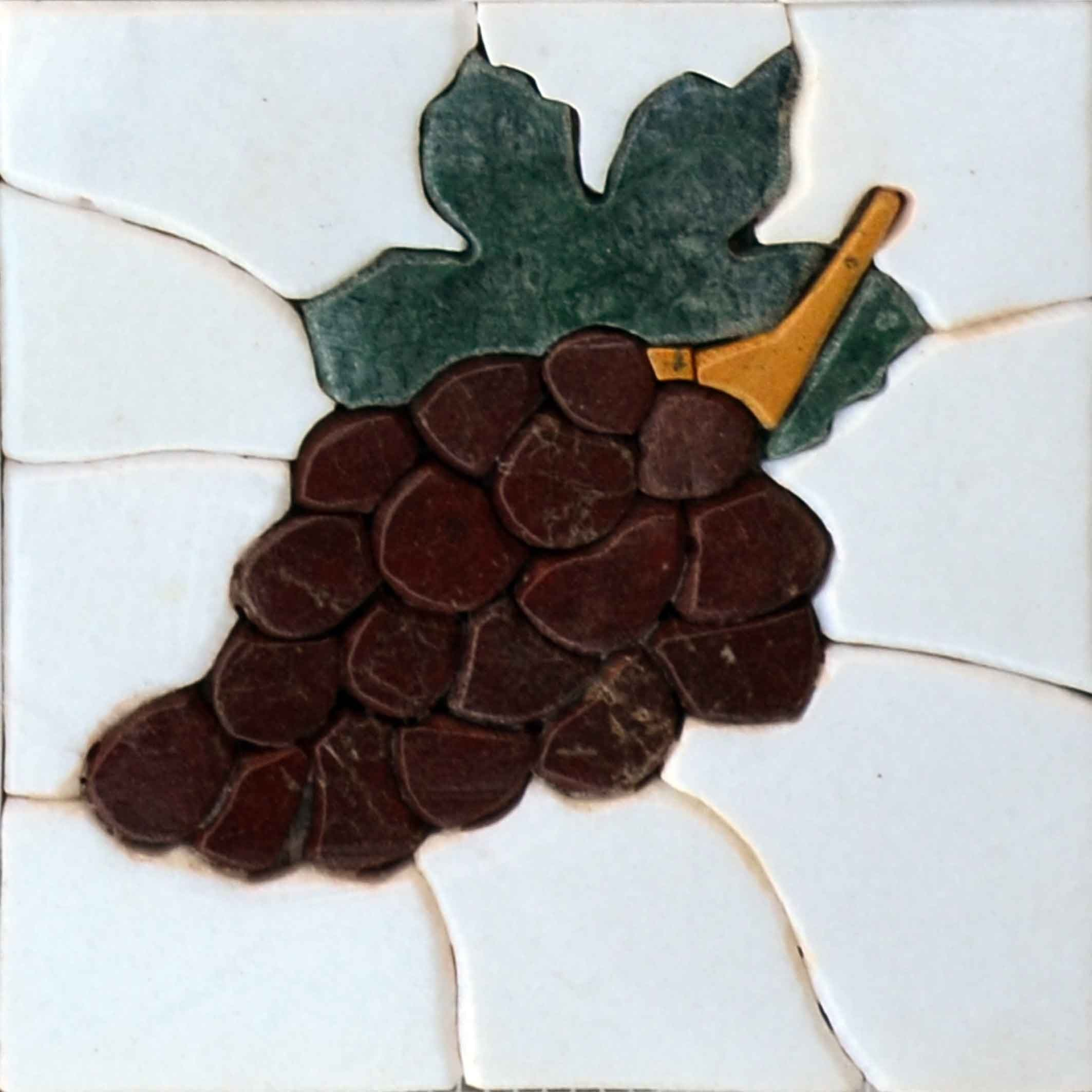 3D Mosaic Art - Thessaloniki Grape