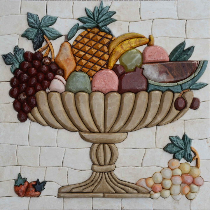 Mosaic Designs - 3D Food & Fruit Basket