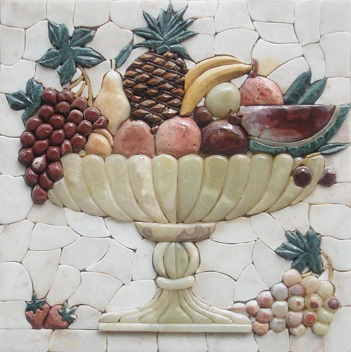 Mosaic Kitchen Backsplash- Pietre Frutta
