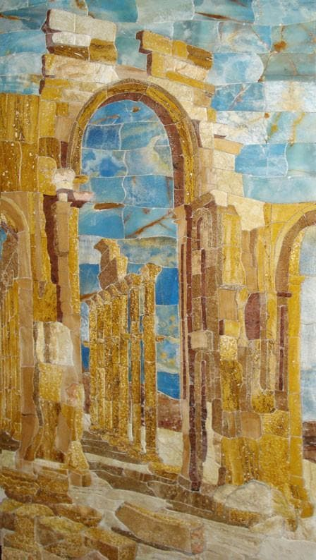 Stone Mosaic Decor Pic