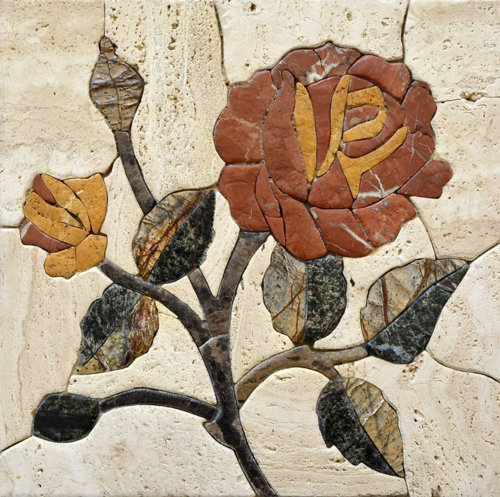 Mosaic Art - Flora From The Twig
