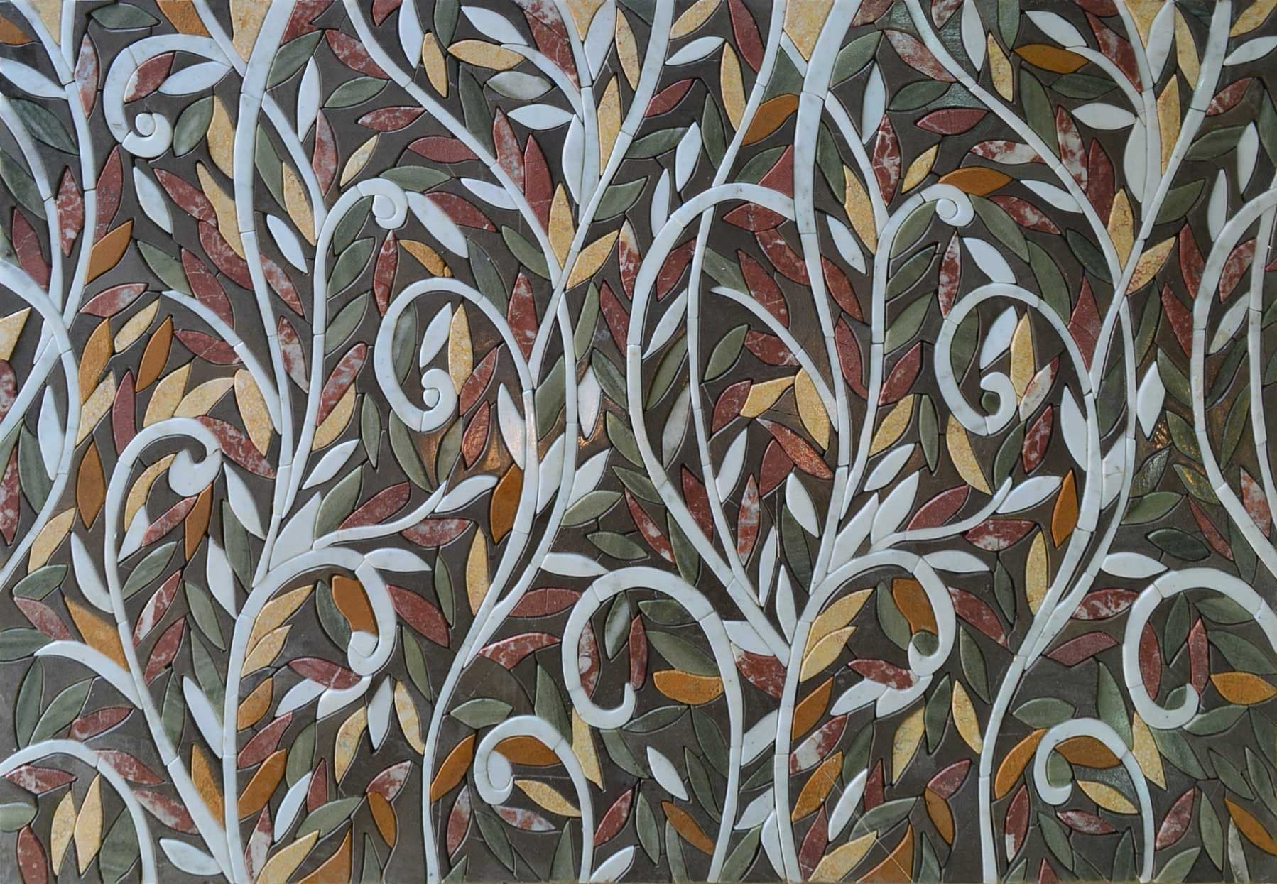 Mosaic Design - Abstract Entangled