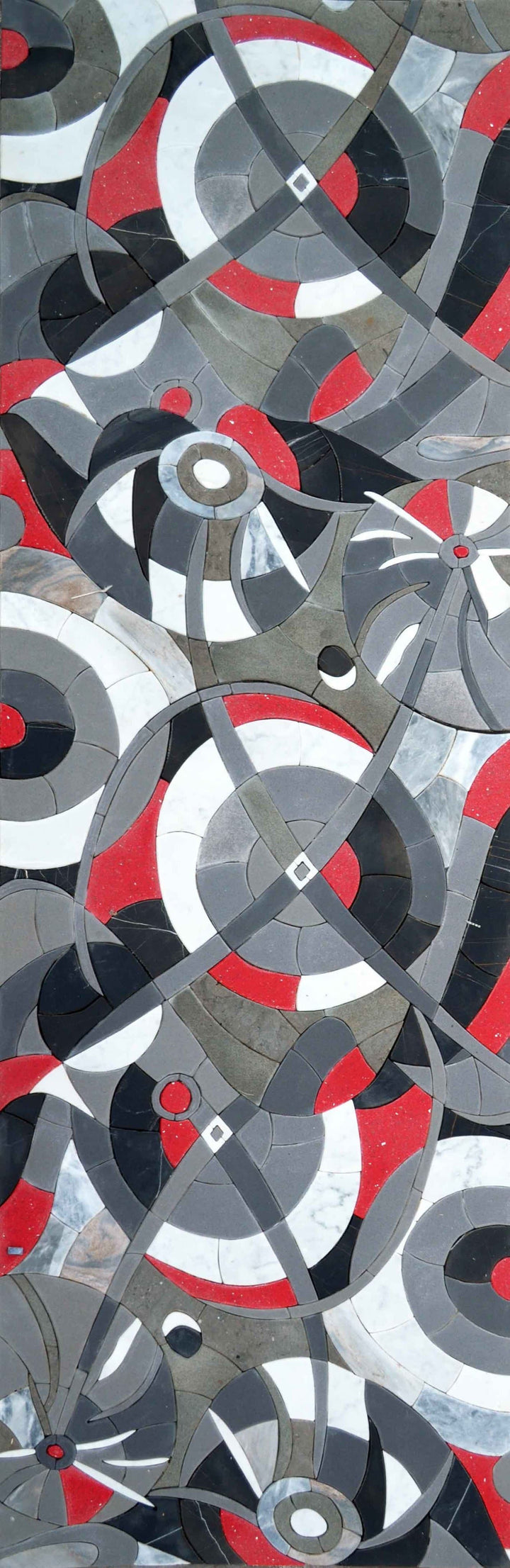 3D Abstract Mosaic - Swirl