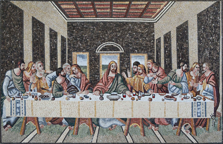 Religious Mosaics- The Last Supper
