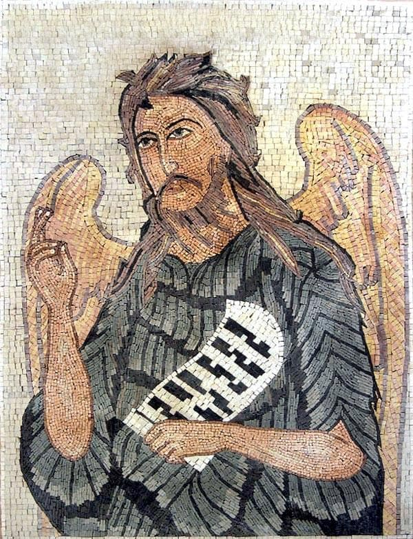 Christian Mosaic Angel