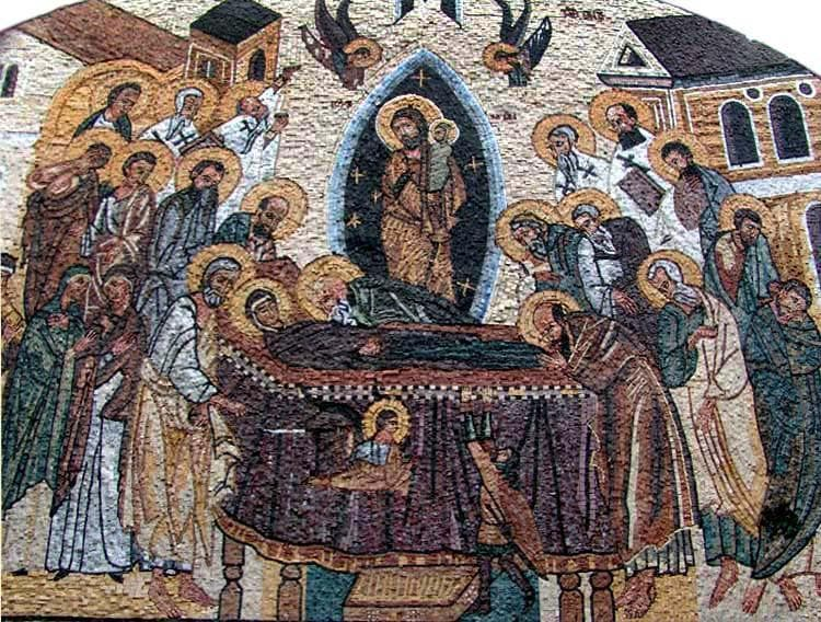 Christian Iconography Mosaics Pic
