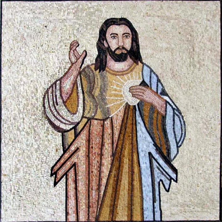 Mosaic Designs - Jesus Christo