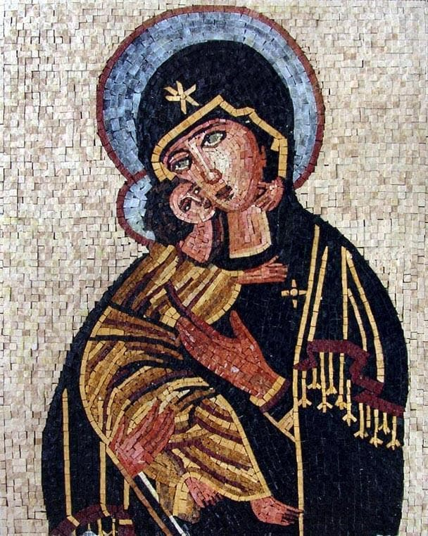 Christian Art Mural Mosaic Icon