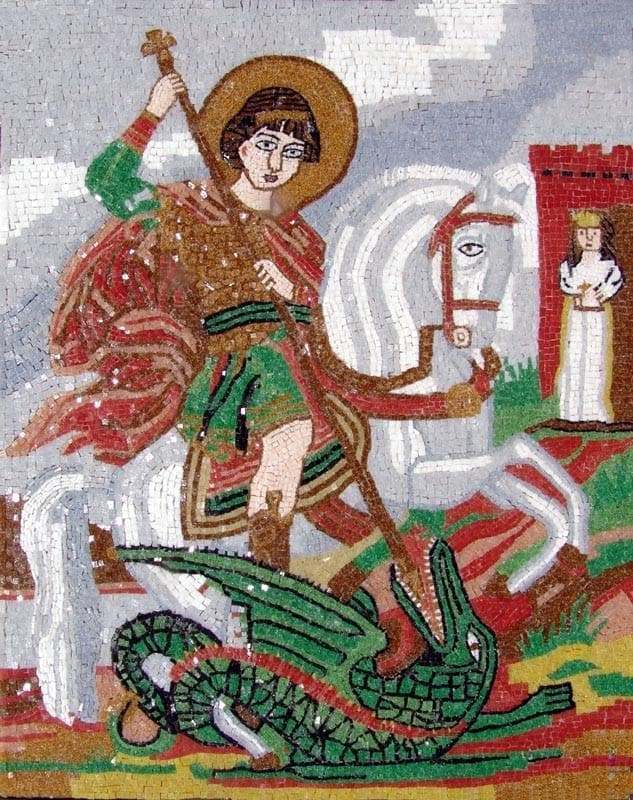 Saint Georges Glass Mosaics Pic