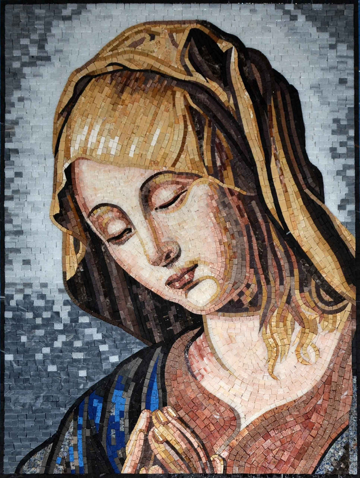Mosaic Icon - Virgin Maria