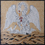 The Marvellous Pelican - Christian Mosaic Art