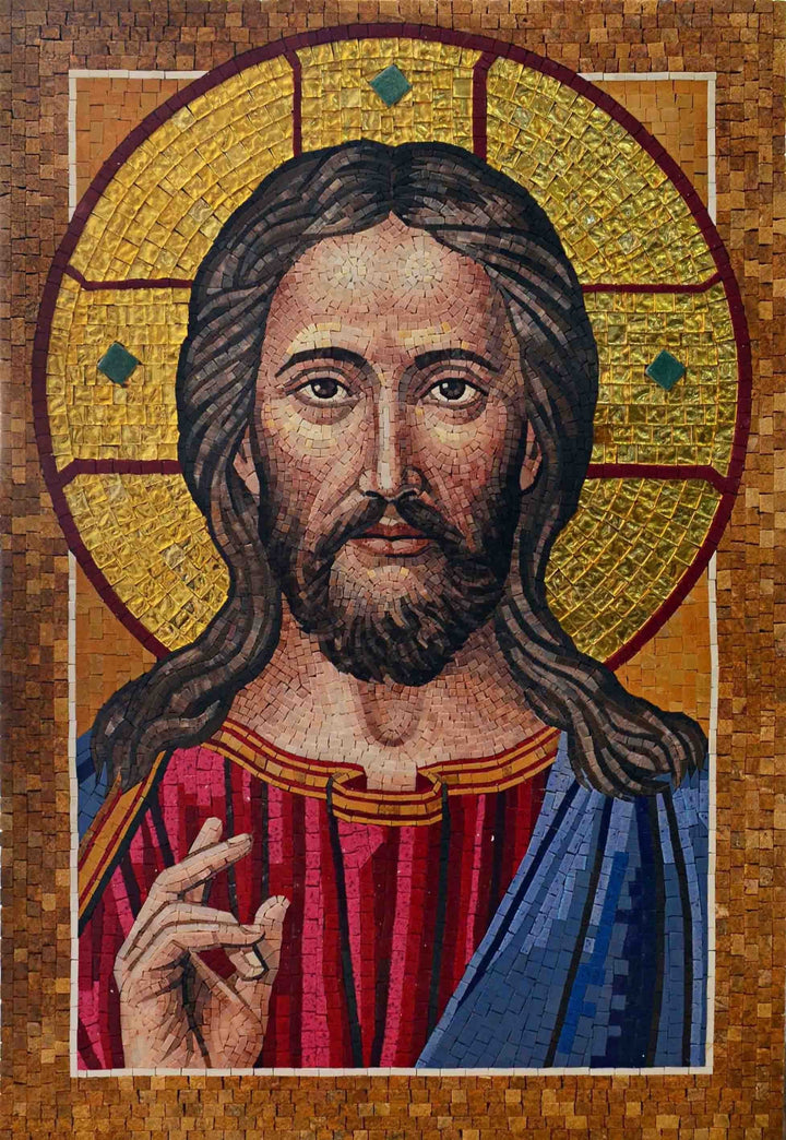 Mosaic Icon - Jesus Christ