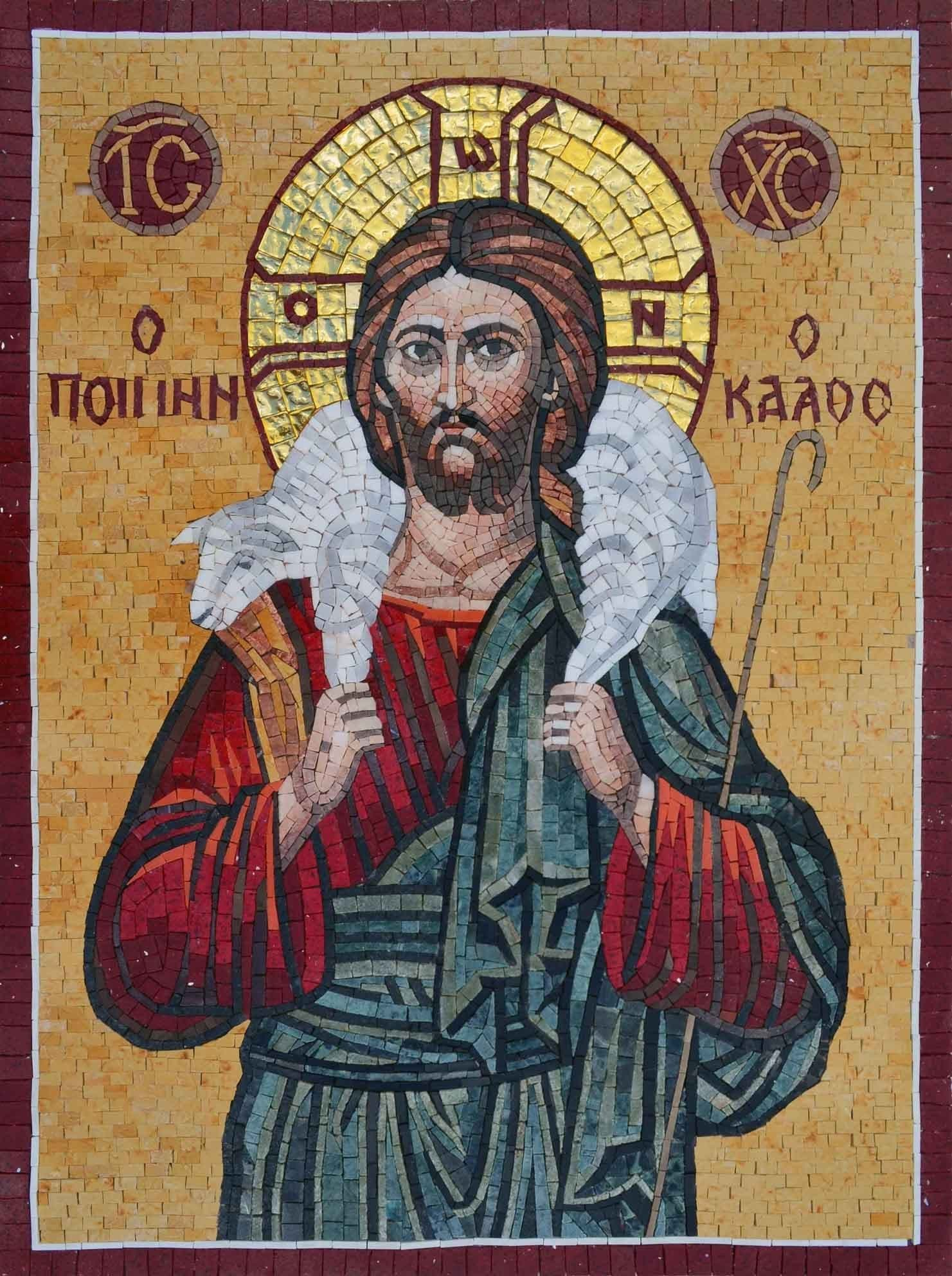 Mosaic Icon - Parable of the Lost Sheep